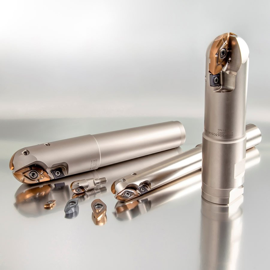 High Efficiency Indexable Ball End Mill for Stamping Die and Welding Material